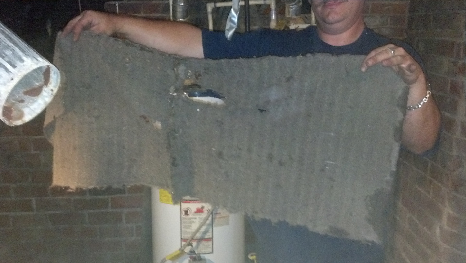 Annual Service will prevent this! (Your coil should NOT have a fur coat!)
